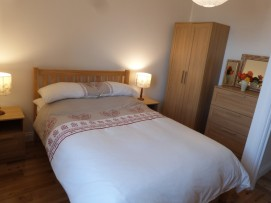 Double En suite Bedroom with Sea View