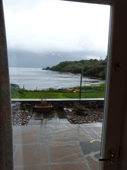 View from the Glazed Door