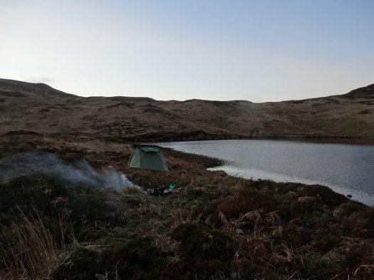 Wild Camping at Loch Uigadail