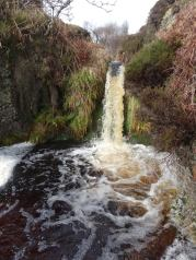 Waterfall Between Bunnahabhain and Rhuvaal