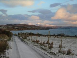 Claggan Bay, with Jura Behind